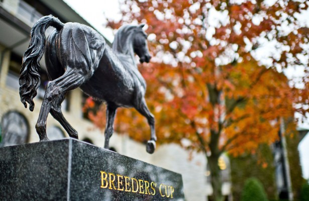 Breeders Cup Keeneland fall 2015 statue