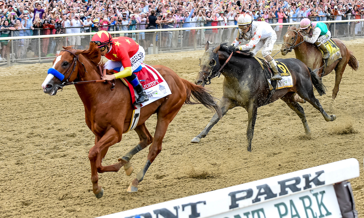 Justify Clinches Triple Crown Belmont Day Results