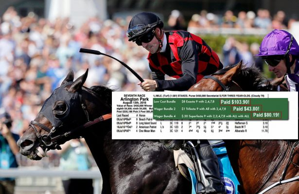 Secretariat stakes results chart ticket